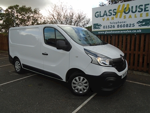 Renault Trafic Sl29 Business Energy Dci S/R P/V Panel Van 1.6 Manual Diesel