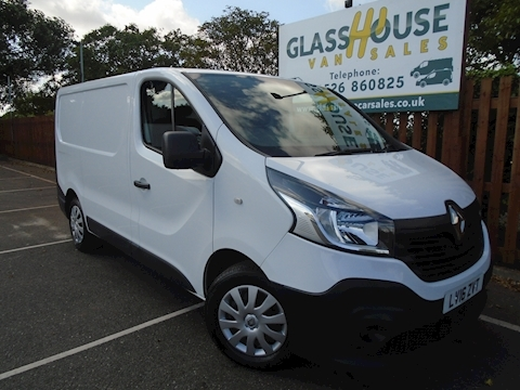 Renault Trafic Sl27 Business Dci S/R P/V Panel Van 1.6 Manual Diesel