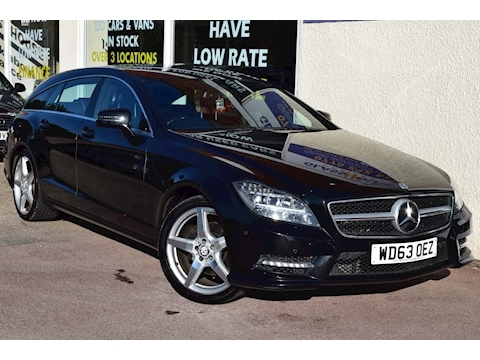 Mercedes-Benz Cls Cls250 Cdi Blueefficiency Amg Sport Estate 2.1 Automatic Diesel