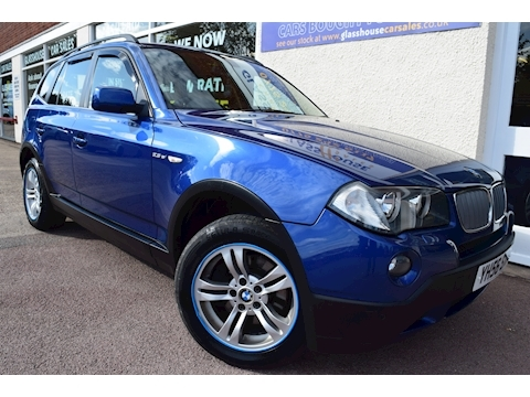 Bmw X3 Si Se Estate 2.5 Manual Petrol