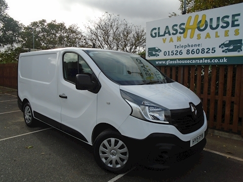 Renault Trafic Sl29 Business Dci S/R P/V Panel Van 1.6 Manual Diesel