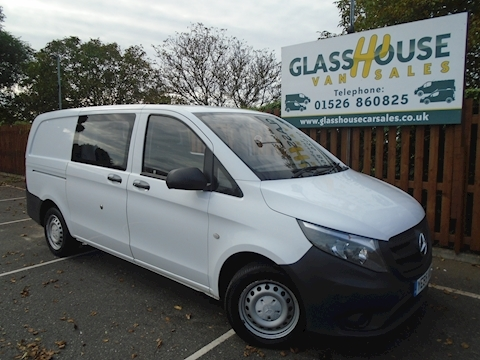 Mercedes-Benz Vito 111 Cdi Van With Side Windows 1.6 Manual Diesel