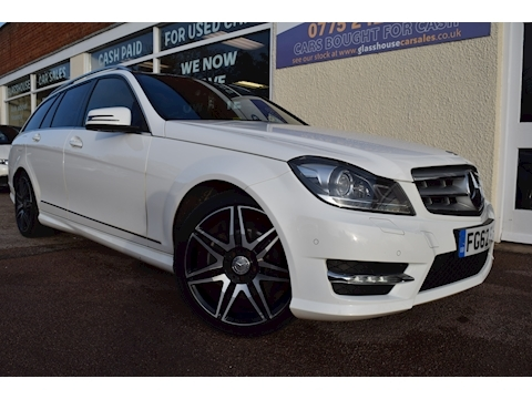 Mercedes-Benz C Class C250 Cdi Blueefficiency Amg Sport Plus Estate 2.1 Automatic Diesel