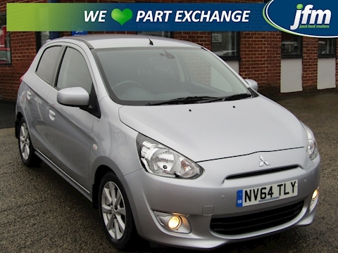 Mitsubishi Mirage 1.2 [100g/km] 3 (Start/Stop)