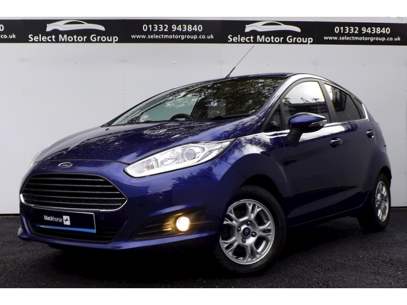 Ford Fiesta Titanium Econetic Tdci 1.6 5dr Hatchback Manual Diesel