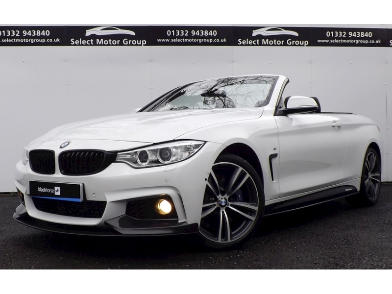 BMW 4 Series 435D 3.0 Xdrive M Sport Convertible Automatic Diesel