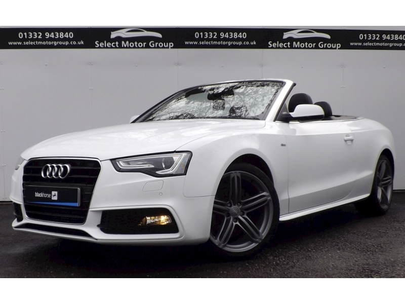 Audi A5 2.0 TDI 177 S Line Special Edition 2dr Convertible Cvt Diesel