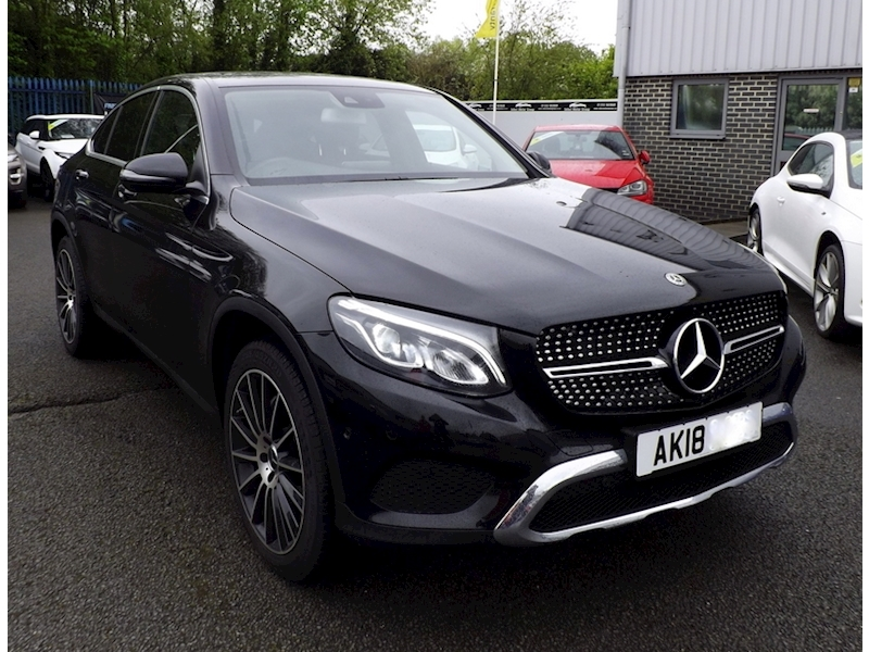 Mercedes-Benz Glc-Class GLC 250 D 4Matic Sport Premium Plus 2.1 4dr Coupe Automatic Diesel
