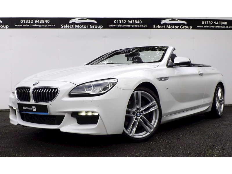 BMW 6 Series 640D 3.0 M Sport Convertible Automatic Diesel