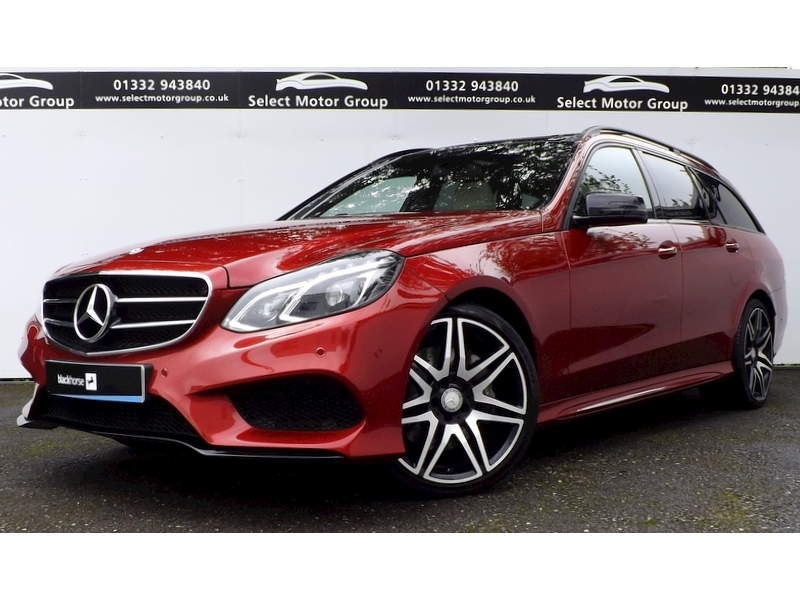 Mercedes-Benz E Class E350 3.0 AMG Night Edition Premium Estate 9G-Tronic Plus Diesel