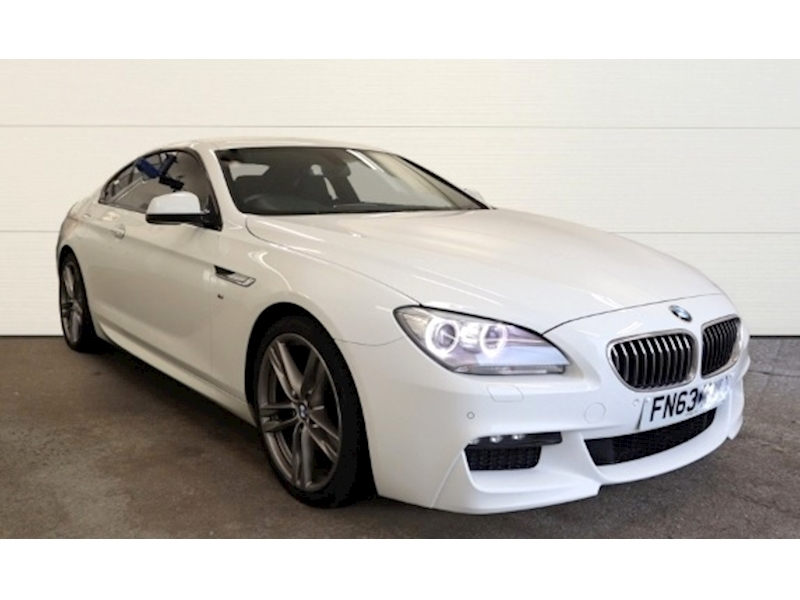 BMW 6 Series 640D 3.0 M Sport Coupe 2dr Coupe Automatic Diesel