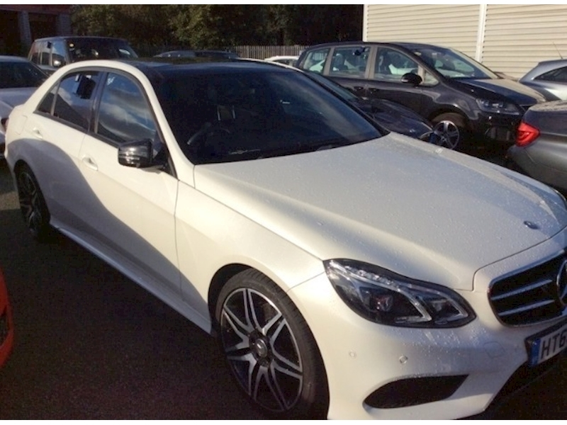 Mercedes-Benz E Class E220 2.1 CDI BlueTEC AMG Night Edition Saloon 7G-Tronic Plus Diesel
