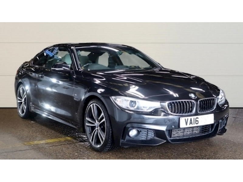 BMW 4 Series 420D 2.0 190 M Sport Coupe 2dr Coupe Automatic Diesel
