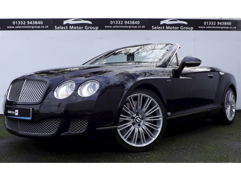 Bentley Continental 6.0 W12 GTC Speed Convertible Automatic Petrol