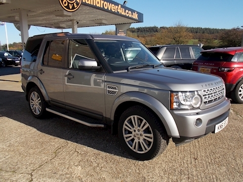 Land Rover Discovery 4 SDV6 XS 8 Speed Auto