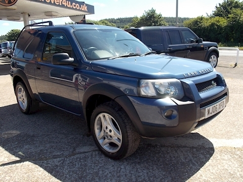 Land Rover Freelander Td4 Commercial