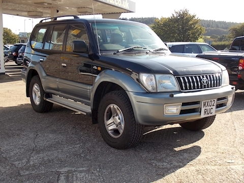 Toyota Land Cruiser Colorado Vx D4d 8 Seats