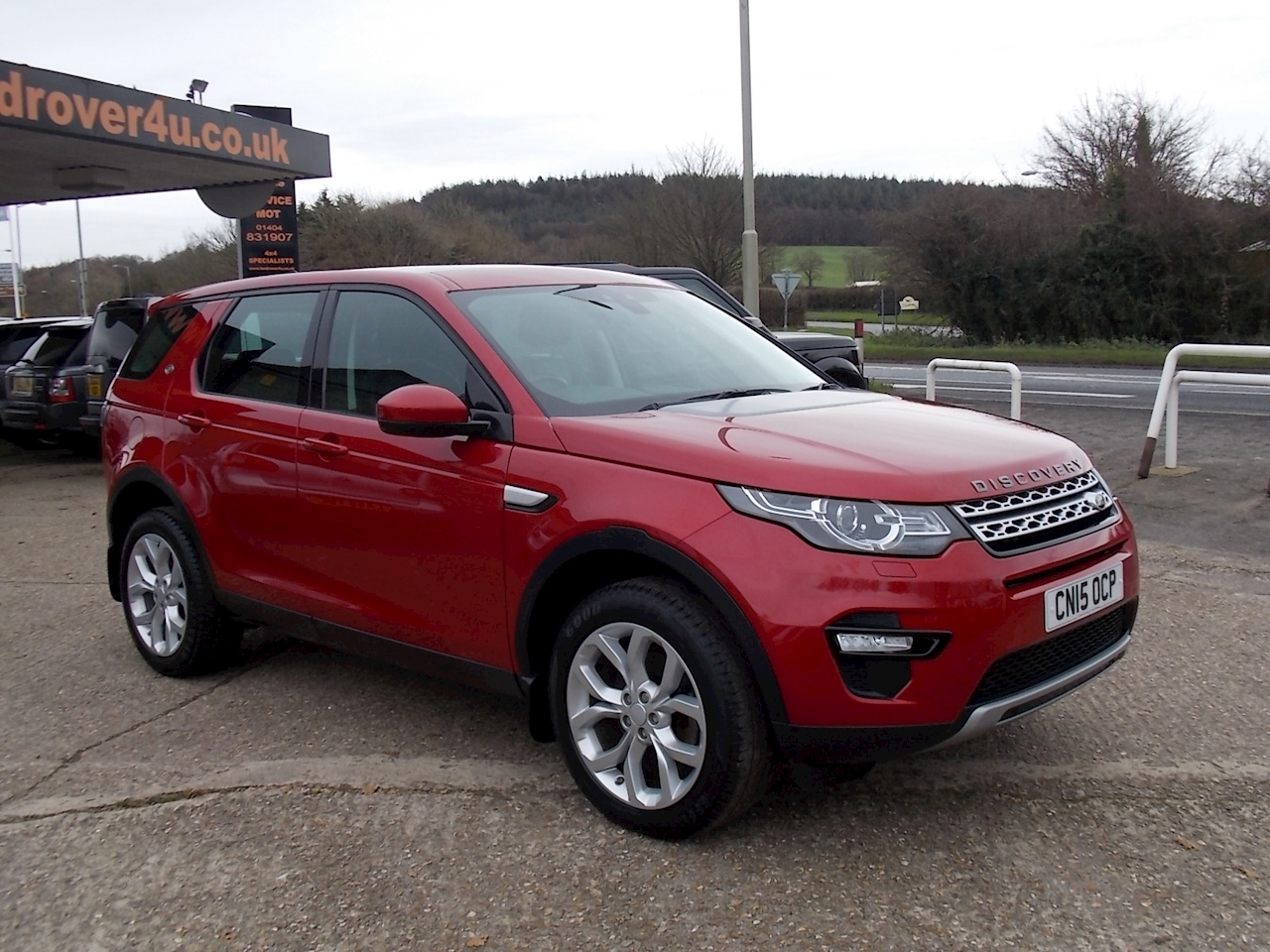 Land Rover Discovery Sport Sd4 Hse Estate 2.2 Manual Diesel