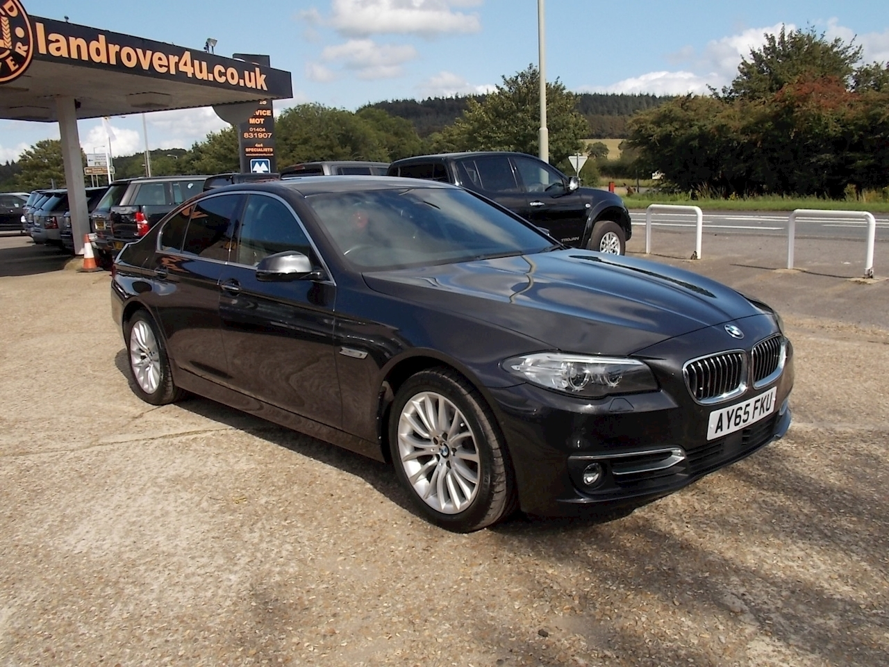 BMW 5 Series 520D Luxury Saloon 2.0 Automatic Diesel