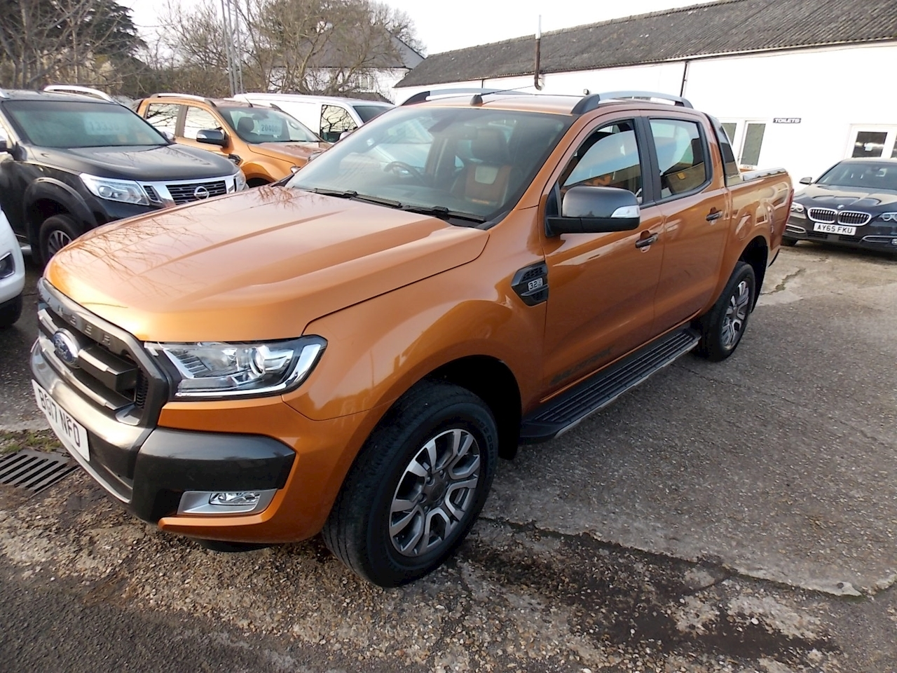 Ford Ranger Wildtrak 4X4 Dcb Tdci Pick-Up 3.2 Automatic Diesel