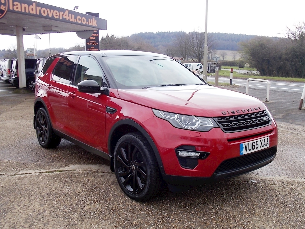 Land Rover Discovery Sport HSE Luxury 2 5dr SUV Manual Diesel