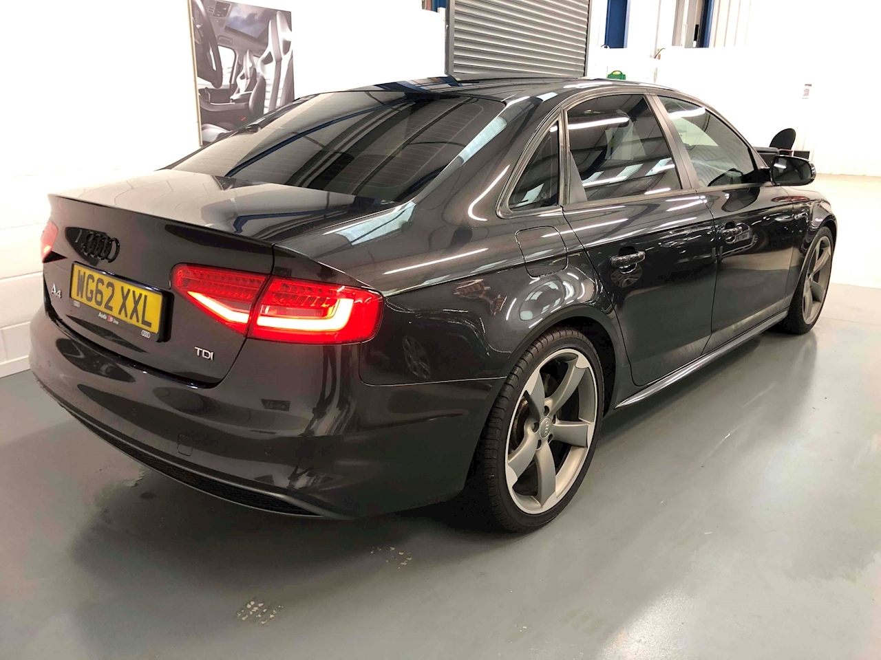 Audi A4 Black Edition S Line Saloon 2.0 Manual Diesel