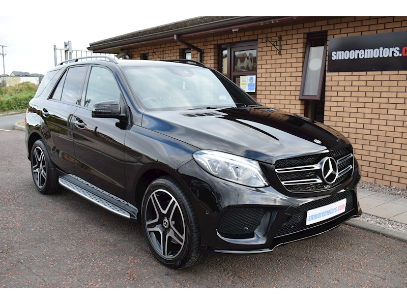 Mercedes-Benz GLE Class AMG Night Edition SUV 2.1 G-Tronic Diesel