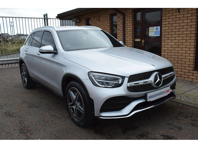 Mercedes-Benz 2.0 GLC220d AMG Line SUV 5dr Diesel G-Tronic+ 4MATIC (s/s) (194 ps)