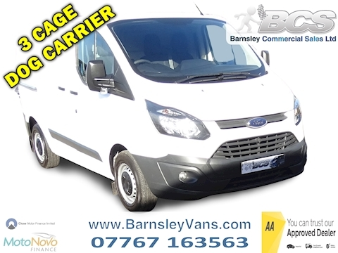 Ford Transit Custom 2.2 TDCi 270 ECOnetic Panel Van 5dr Diesel Manual L1 H1 (162 g/km, 98 bhp)