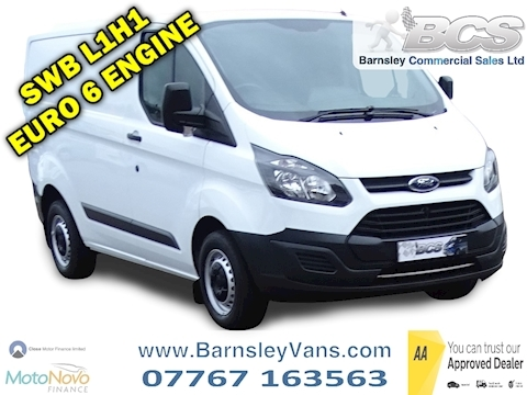 Ford Transit Custom 2.0 TDCi 290 Panel Van 5dr Diesel Manual L1 H1 (163 g/km, 104 bhp)