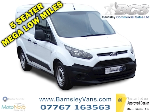 Ford Transit Connect 1.6 TDCi 220 Panel Van 4dr Diesel Manual L1 (124 g/km, 94 bhp)