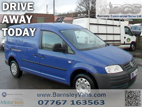 Volkswagen Caddy Maxi C20 Lwb Cdv 104tdi Pd Car Derived Van