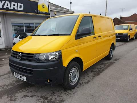 Transporter T32 Tdi P/V Startline 2.0 Van With Side Windows Manual Diesel