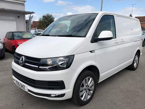 Transporter T30 Tdi P/V Highline Bmt Van With Side Windows 2.0 Manual Diesel
