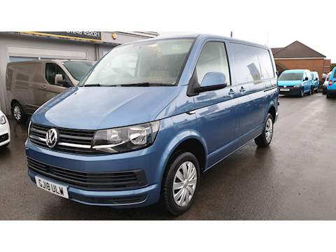 Transporter T28 Tdi P/V Trendline Bmt Van With Side Windows 2.0 Manual Diesel