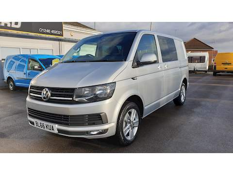 Transporter T32 Tdi Kombi Highline Bmt Van With Side Windows 2.0 Manual Diesel