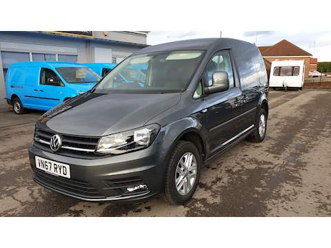 Caddy C20 Tdi Highline Panel Van 2.0 Semi Auto Diesel