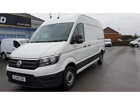 Crafter Cr35 Tdi MWB H/R P/V Trendline 2.0 Panel Van Manual Diesel