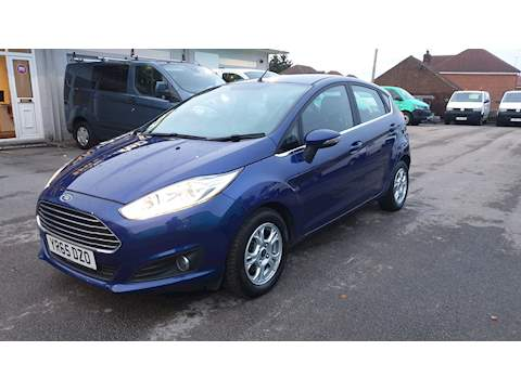 Fiesta Zetec Hatchback 1.5 Manual Diesel