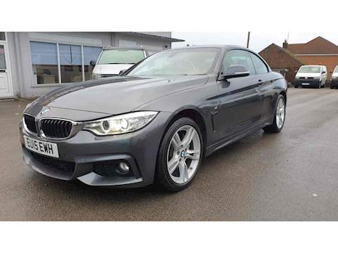 4 Series 435d xDrive M Sport Convertible Convertible 3.0 Automatic Diesel