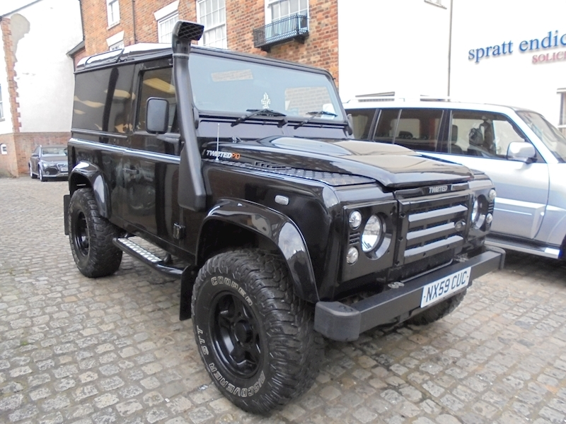 Land Rover Defender 90 County Ht County Hard Top