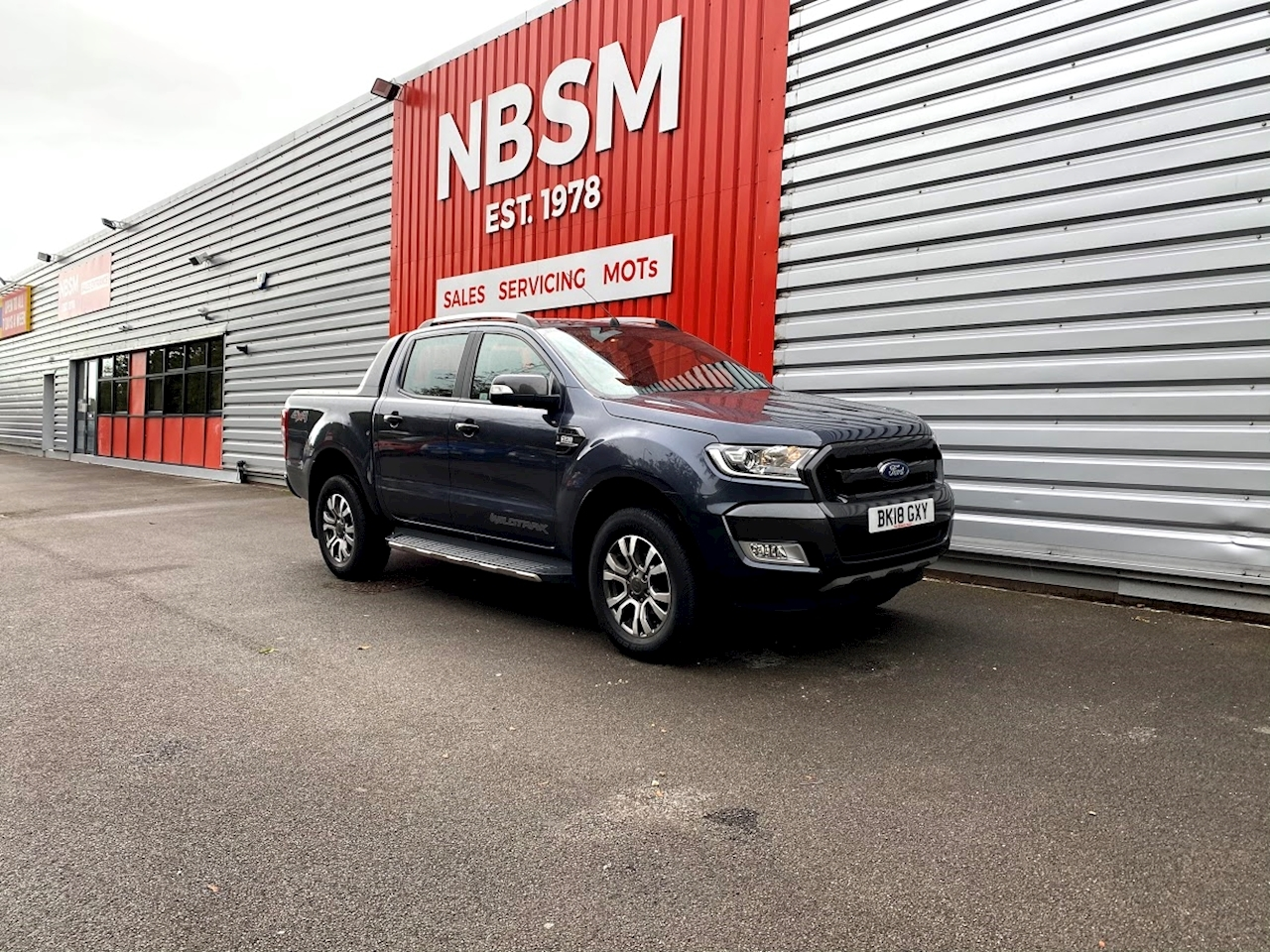 Ford Ranger Wildtrak 4X4 Dcb Tdci 3.2 Pick-Up Automatic Diesel