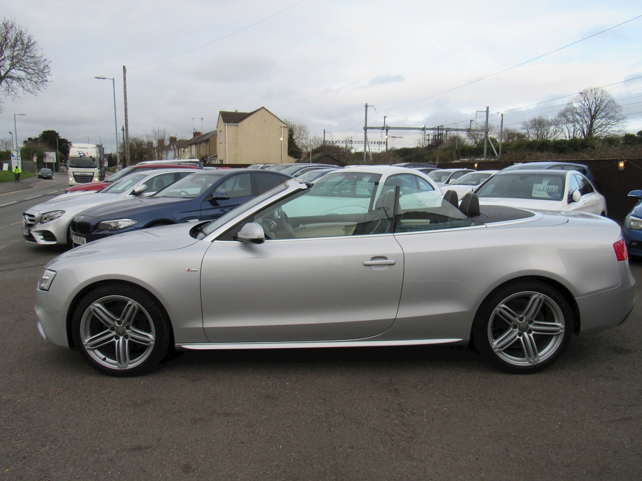 Audi A5 Tdi S Line Special Edition Convertible 2.0 Cvt Diesel