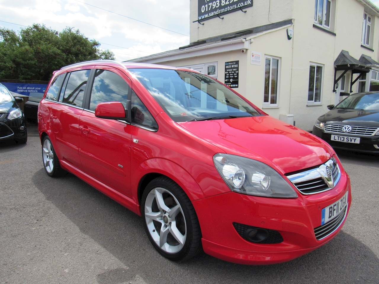 Vauxhall Zafira Sri Xp Cdti Mpv 1.7 Manual Diesel