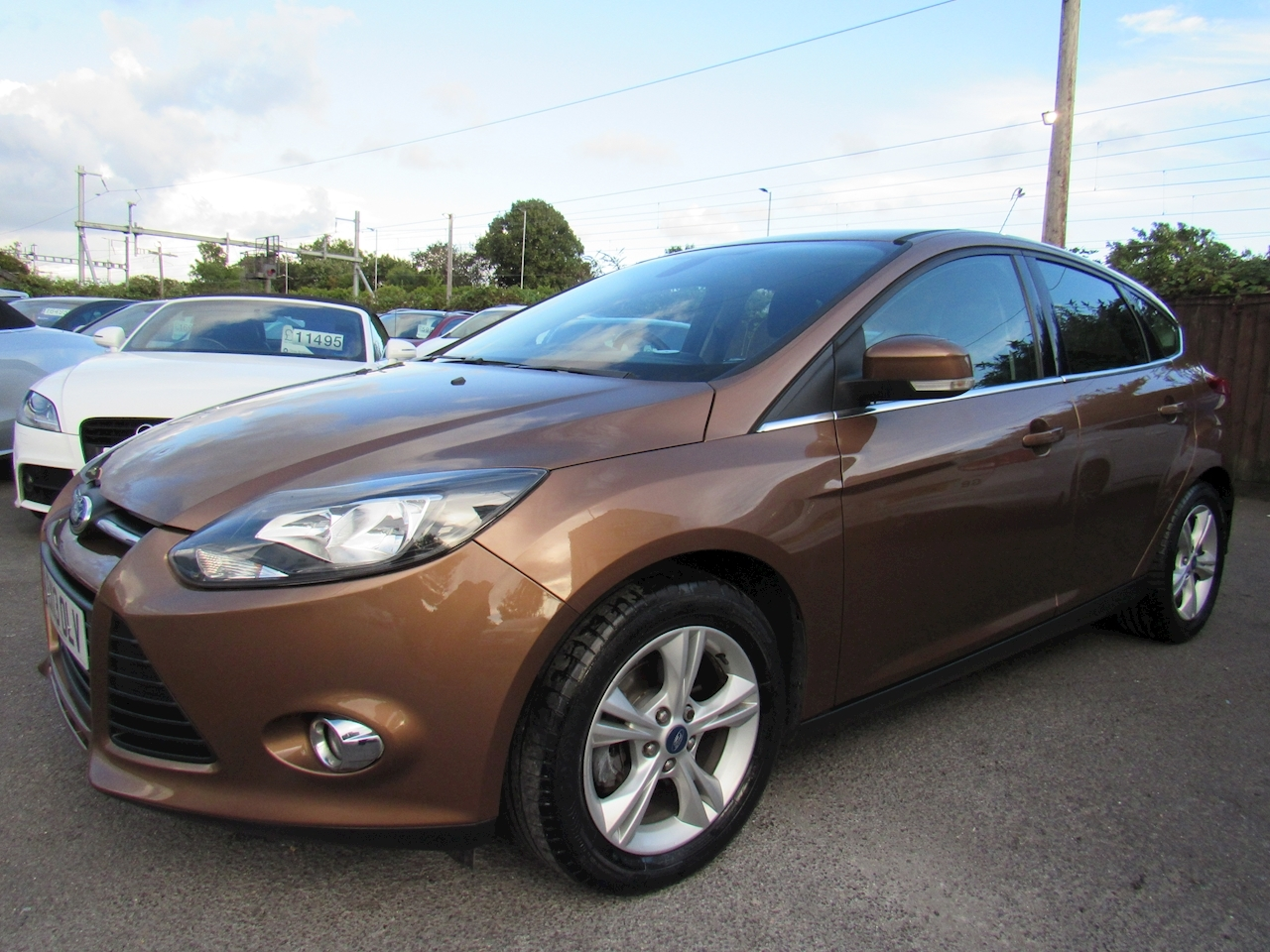 Ford Focus Zetec Hatchback 1.6 Powershift Petrol