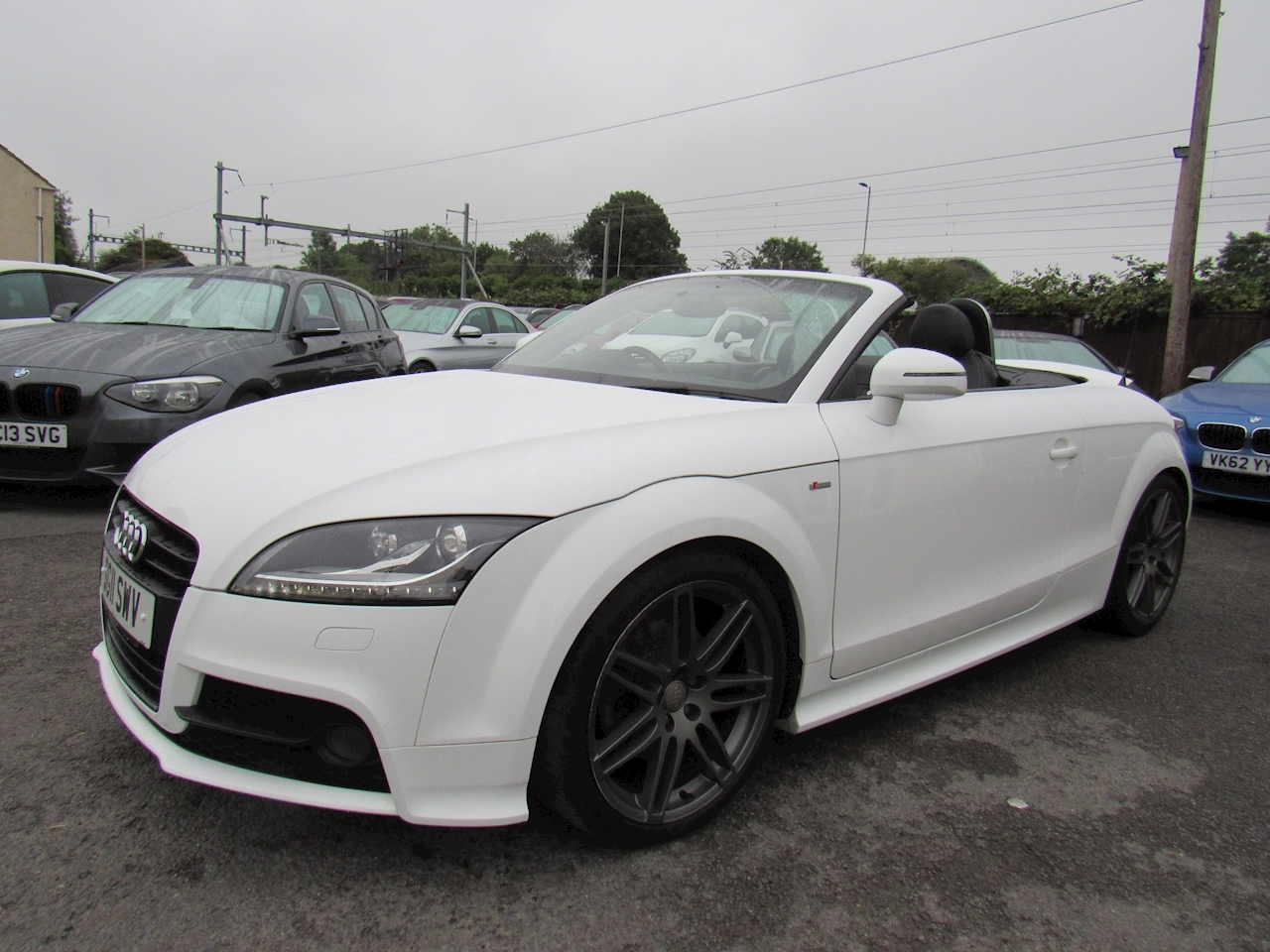 Audi TT Black Edition Roadster 2.0 Manual Petrol