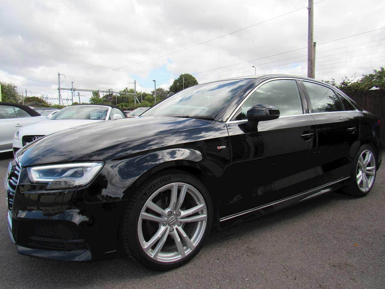 Audi A3 S line Saloon 2.0 Manual Diesel