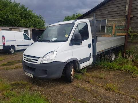 Iveco Daily 35c12 C/c 3450 Mwb 2.3 Dropside Lorry Diesel