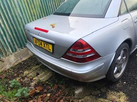 Mercedes Slk 200 Kompressor Convertible 2.0 Manual Petrol