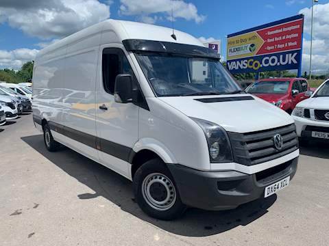 Crafter Cr35 Tdi H/R P/V Startline Panel Van 2.0 Manual Diesel